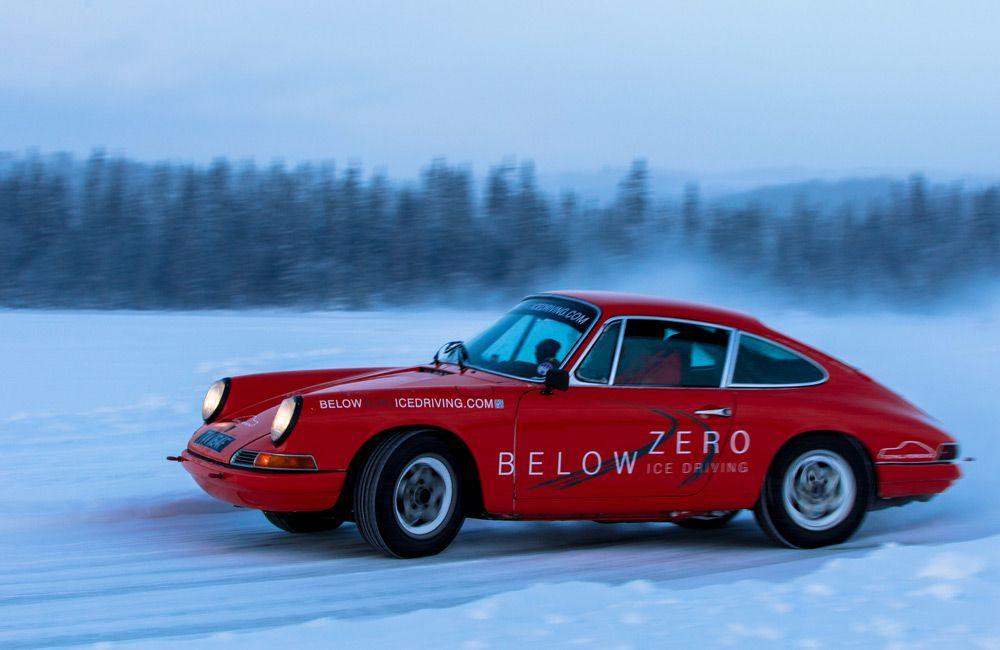 Гонки Below Zero Ice Driving
