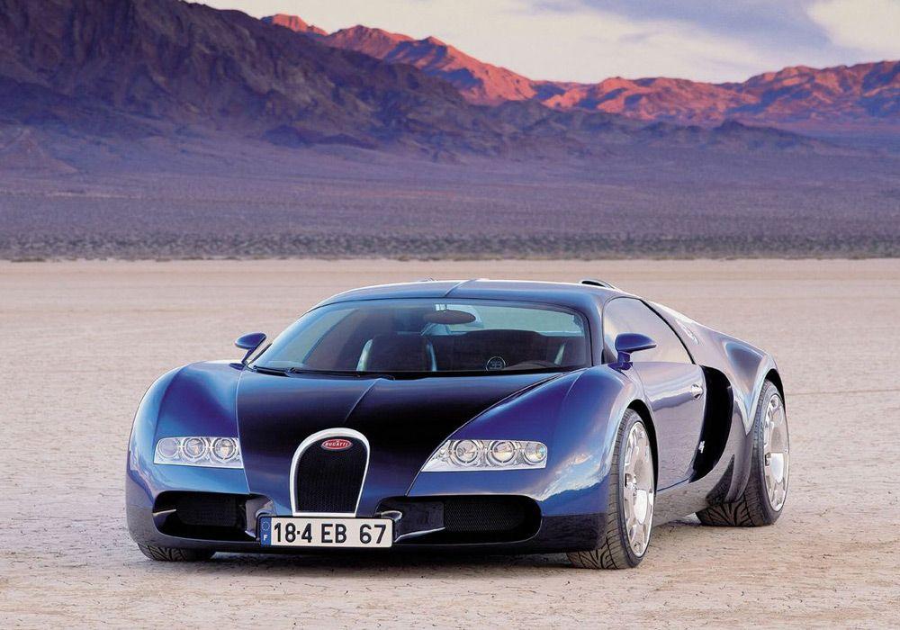 Bugatti EB 18-4 Veyron