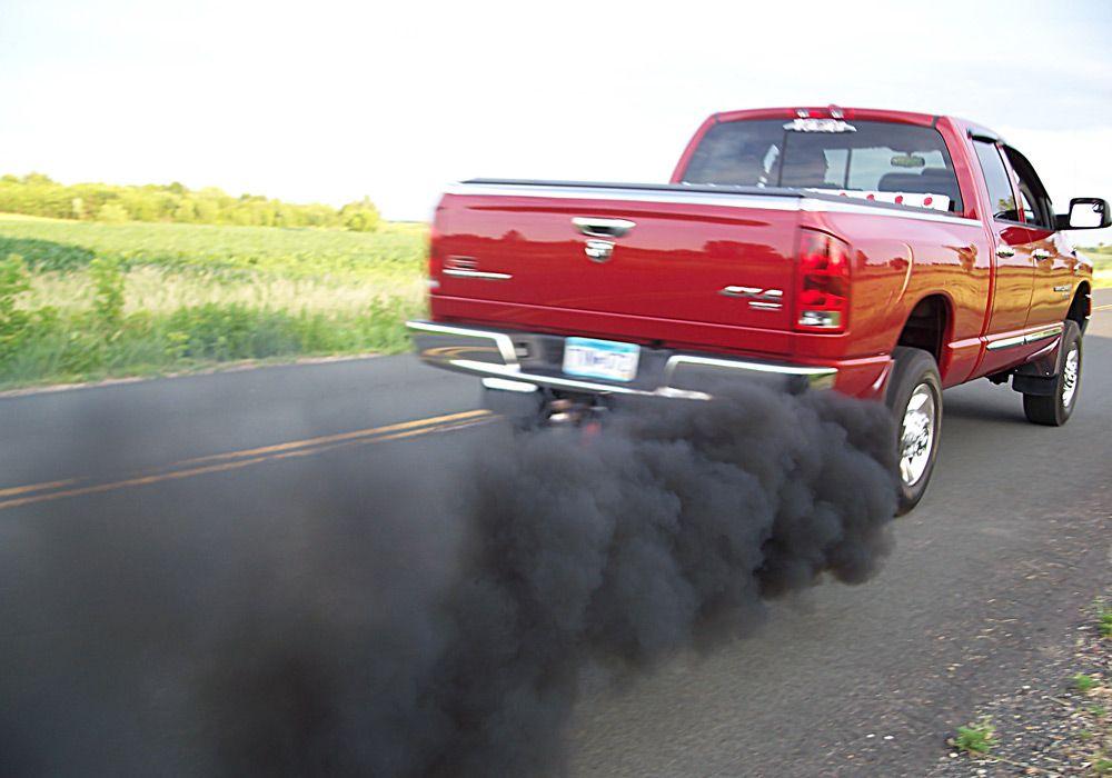 Чёрный дым
