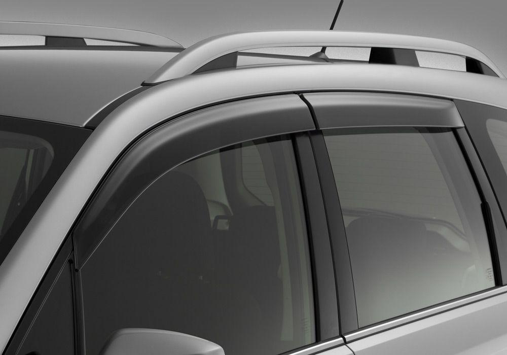 Дефлекторы на окнах