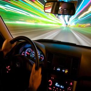 Езда на большой скорости