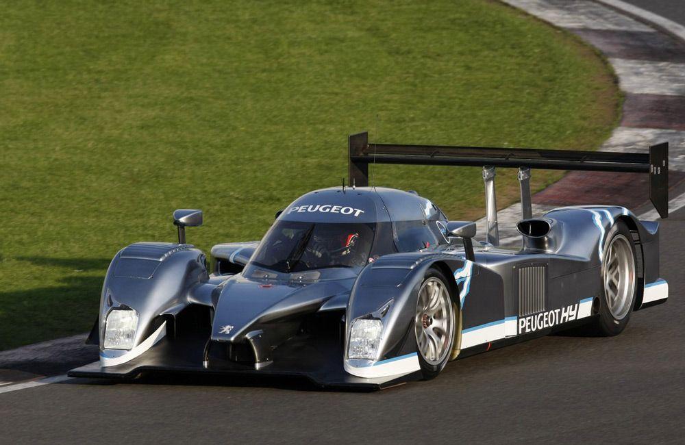Гоночный автомобиль Peugeot
