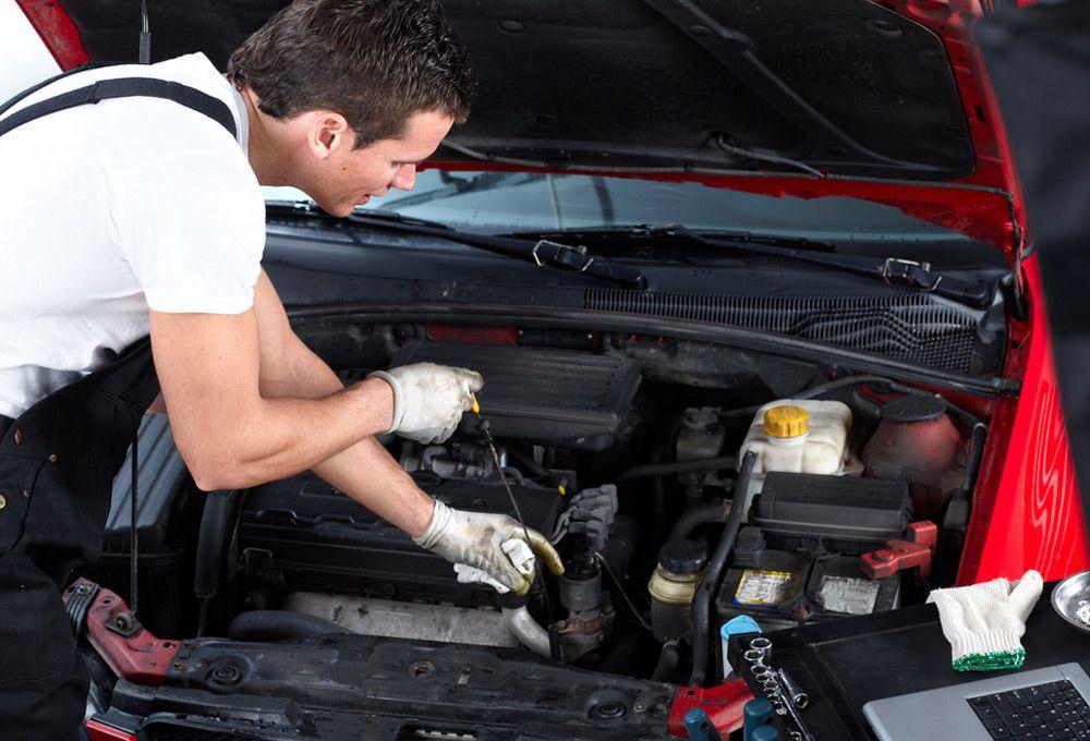 Проверка машины в сервисе