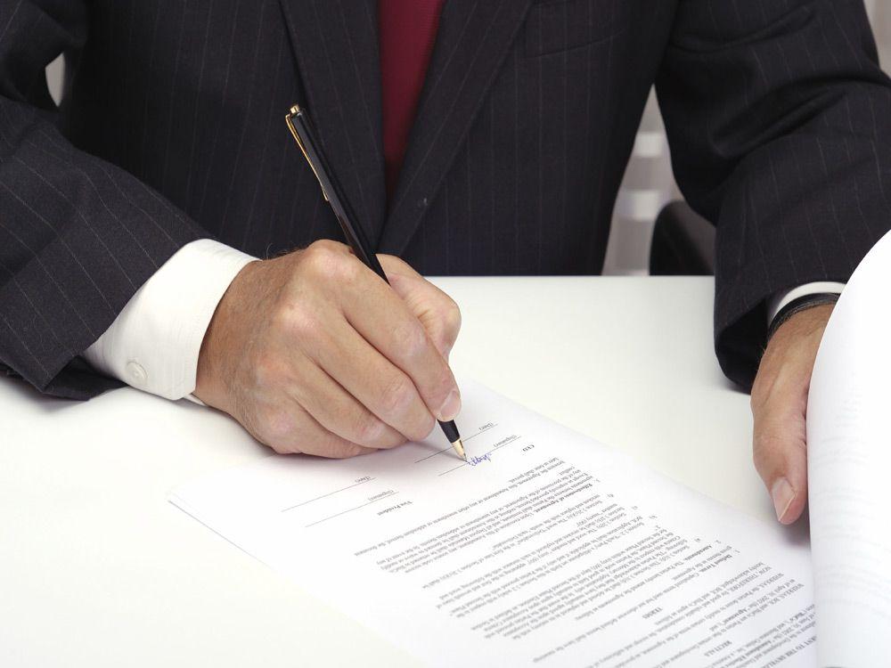Составление договора юристом