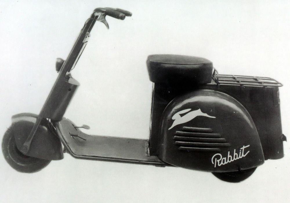 Мотороллер Fuji Rabbit