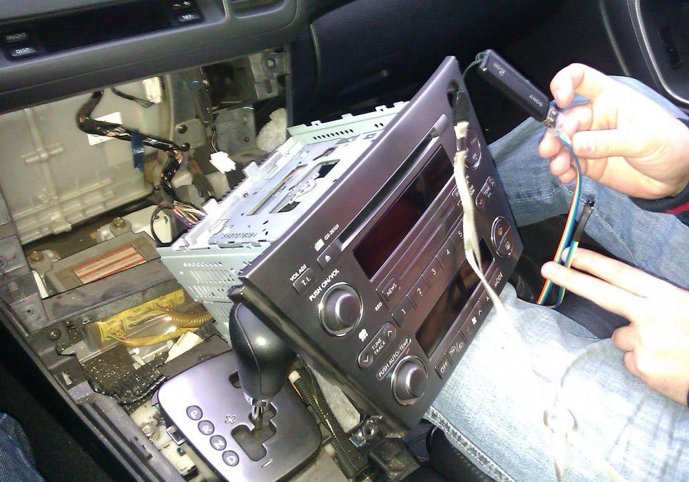 Как сделать из кассетной магнитолы usb. Добавляем USB в магнитолу