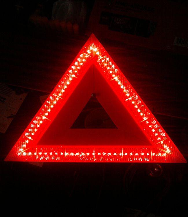 Знак со светодиодами