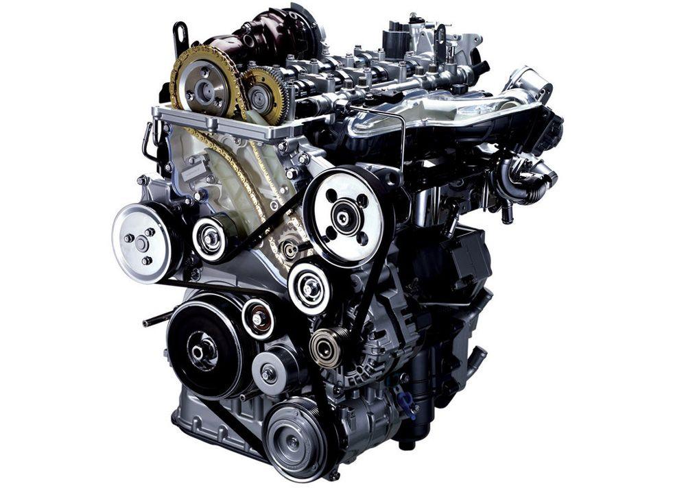 Дизельный мотор в сборе