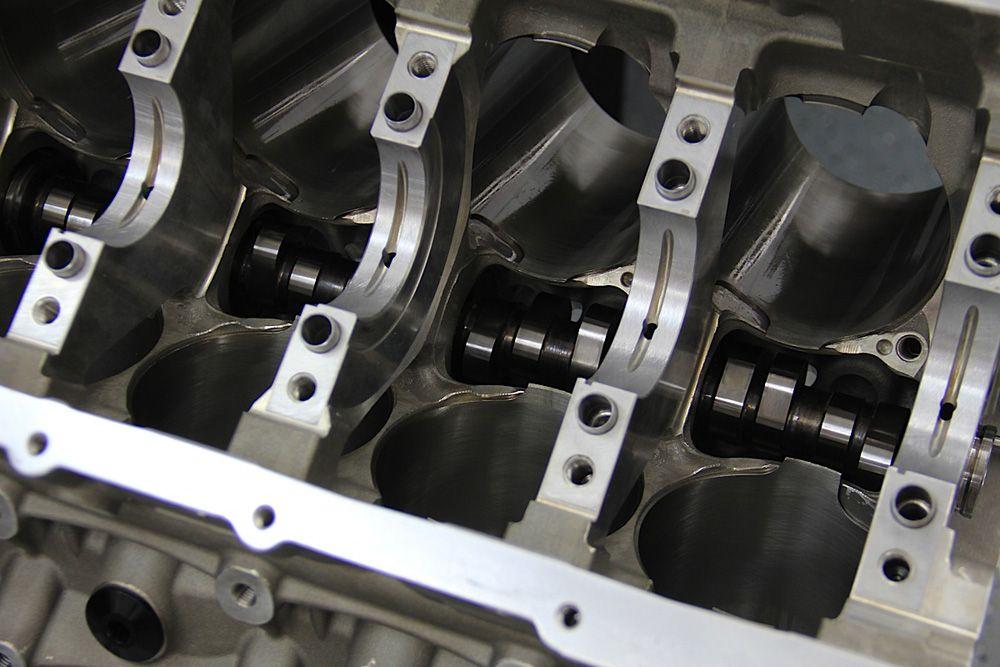 Коленвал бензинового двигателя