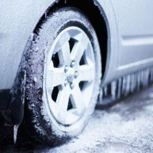 Замёрзшее колесо