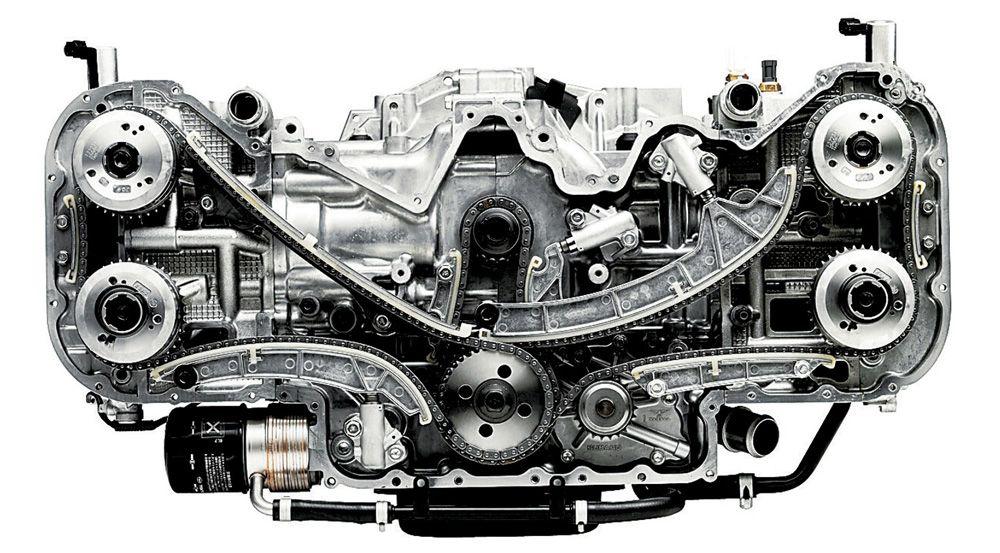 Устройство оппозитного двигателя
