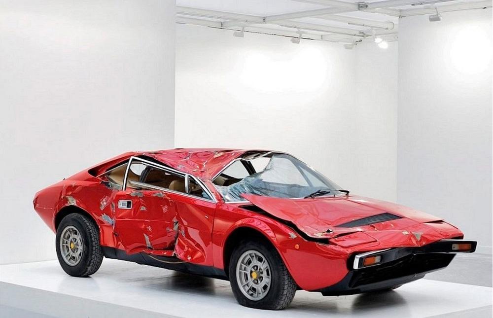 Ferrari после ДТП