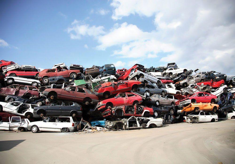 Автомобили в утилизации