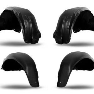 Черные пластиковые подкрылки