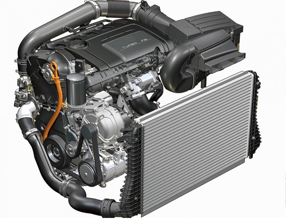 Двигатель TSI от Фольксвагена