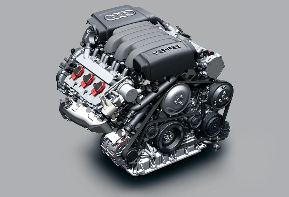 Двигатель Audi FSI