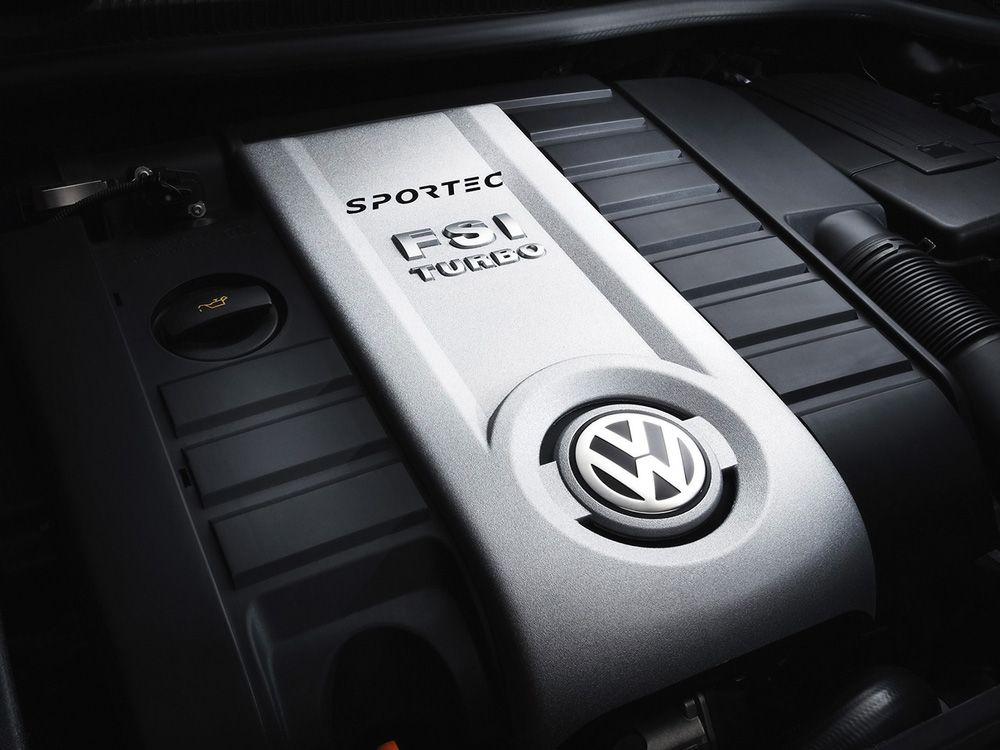 Двигатель Volkswagen FSI