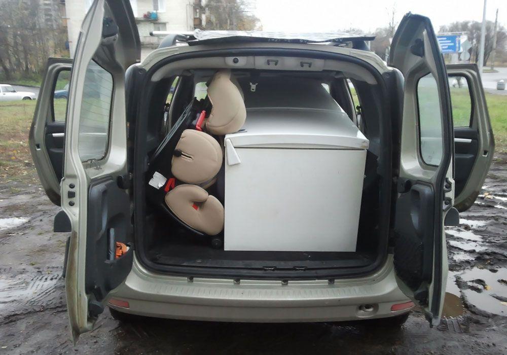 Холодильник в багажнике