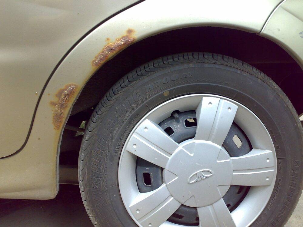 Коррозия на современном авто