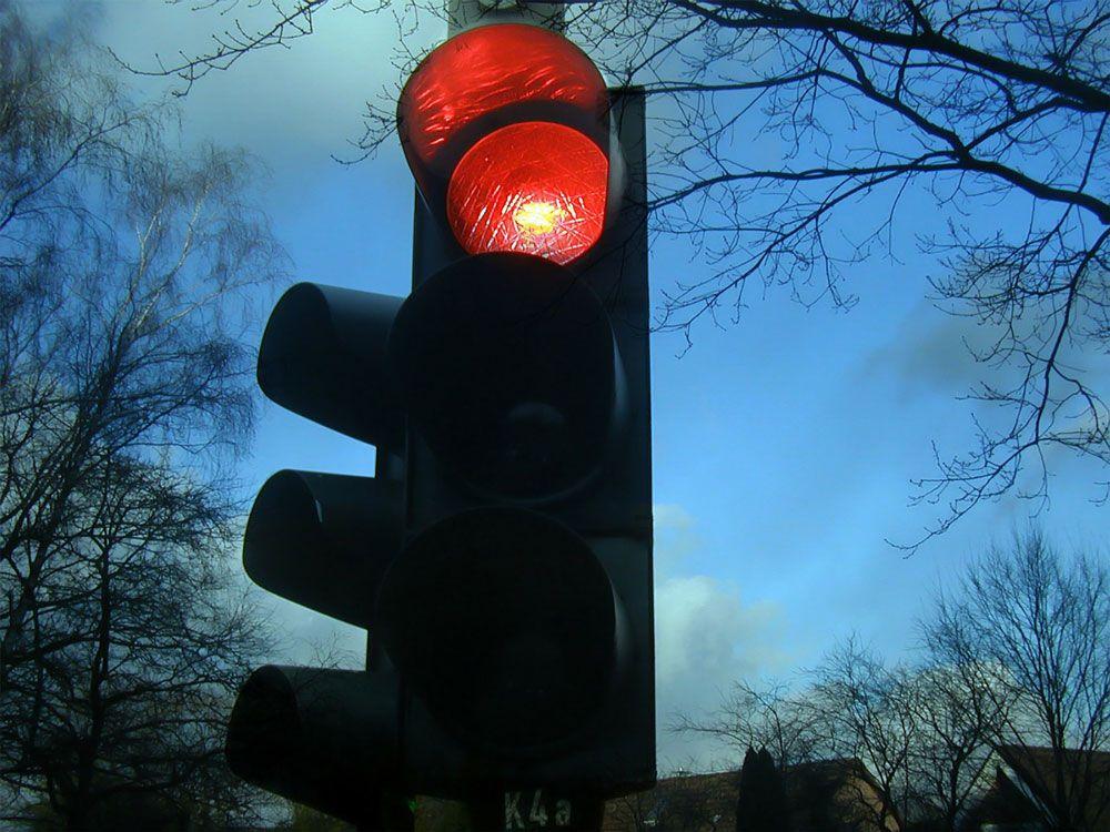 Красный сигнал