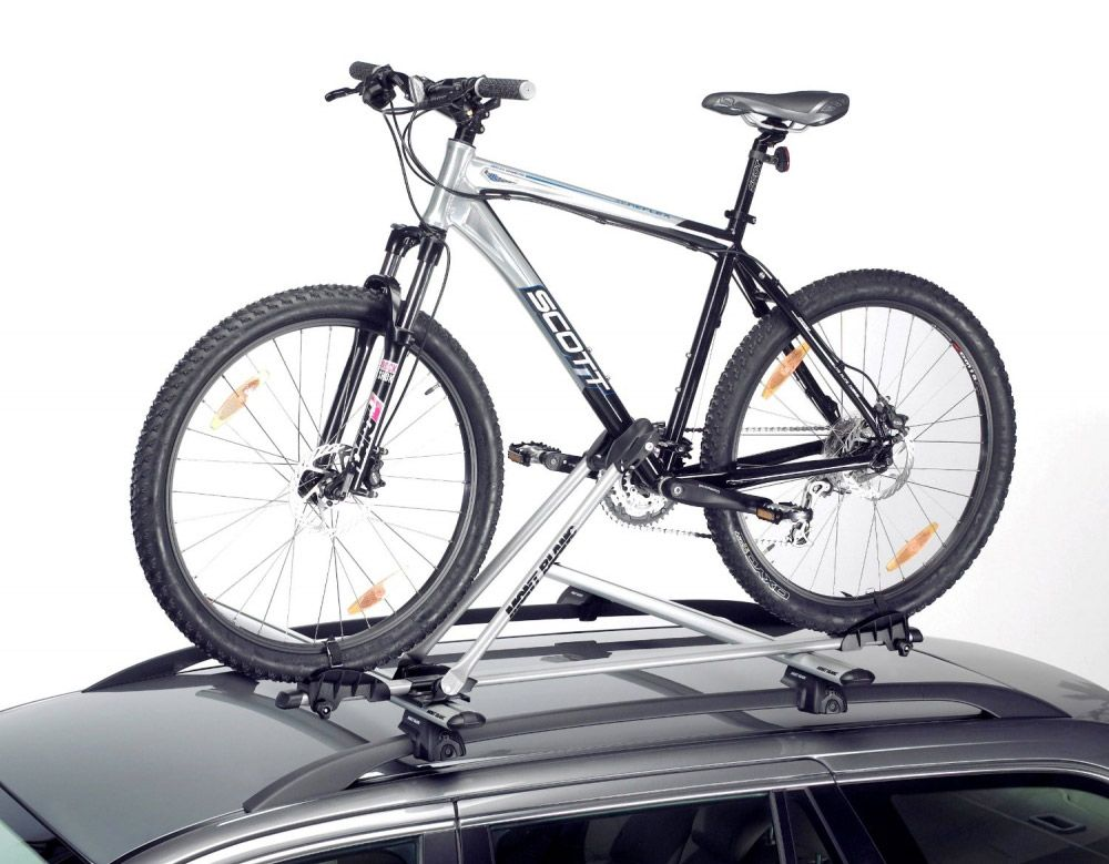 Крепление велосипеда на крыше