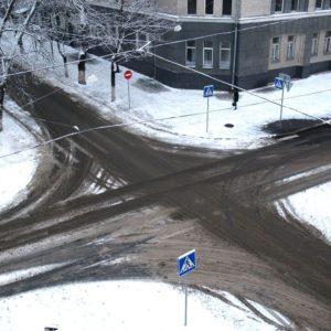 Нерегулируемый перекрёсток