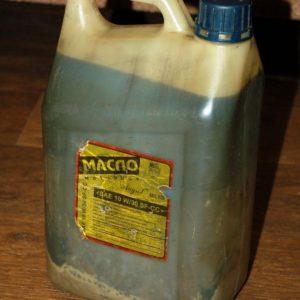 Поддельное моторное масло