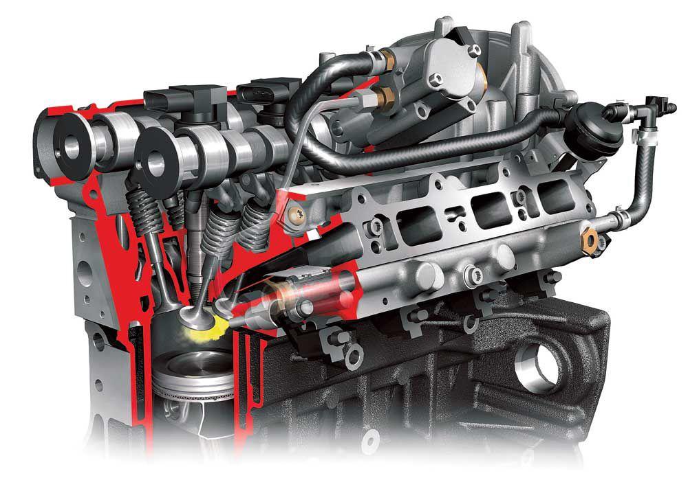 Принцип работы двигателя FSI