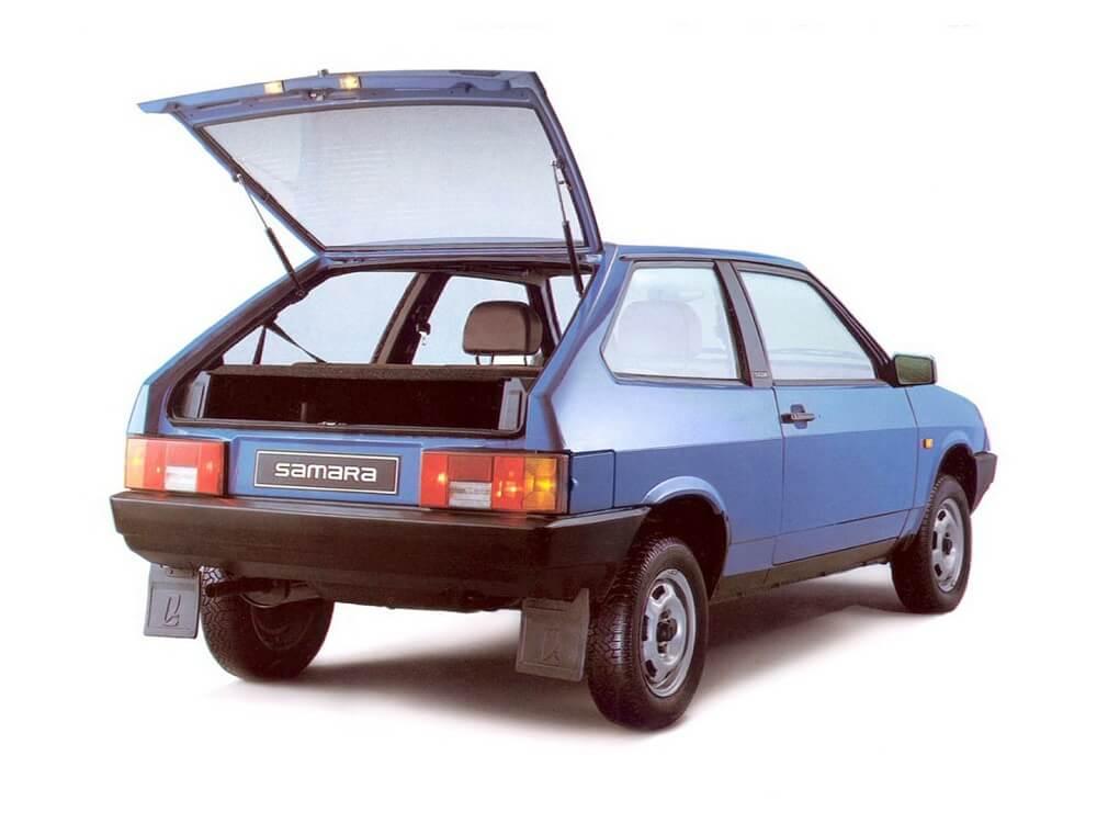 ВАЗ 2108 первый советский хэтчбек