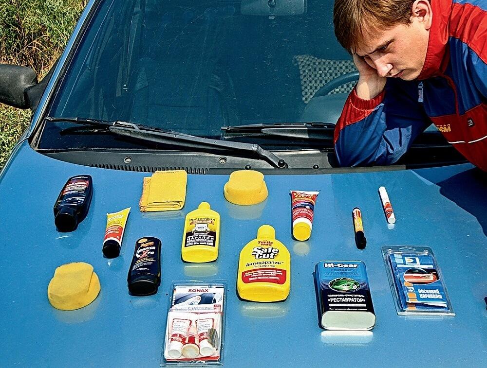 Виды автомобильных полиролей