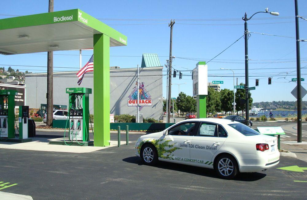 Заправка биодизелем