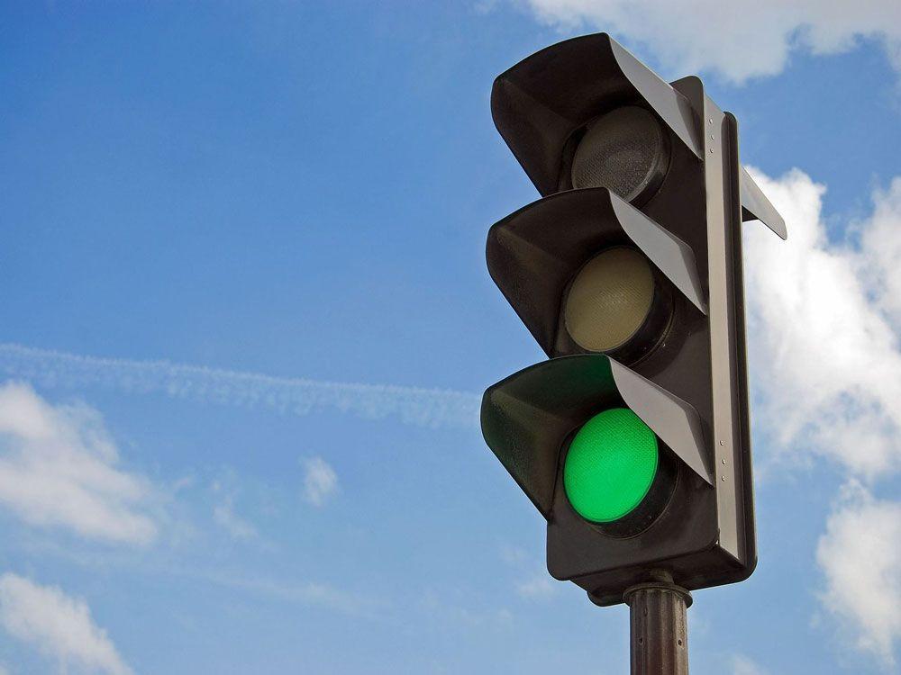 Зелёный сигнал