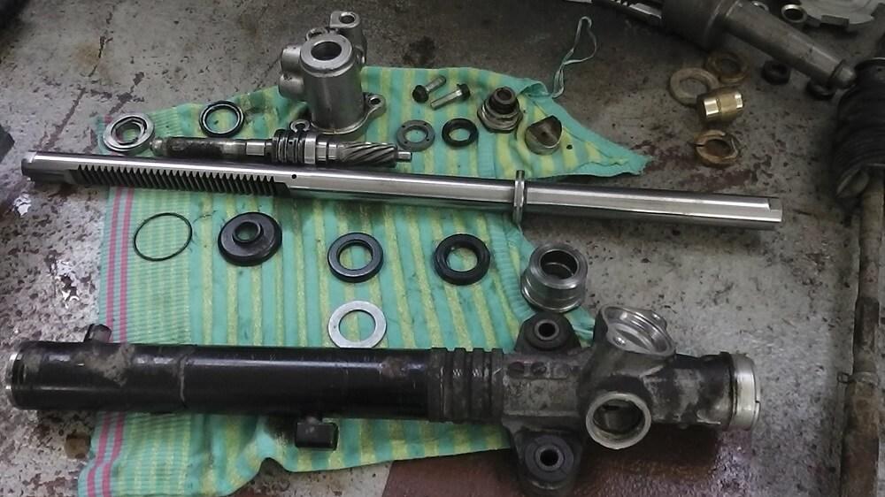 Полноценный ремонт рулевой рейки