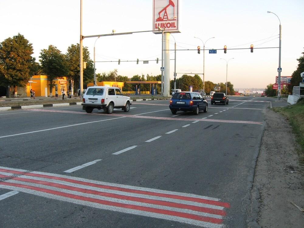 Шумовые полосы на дорогах