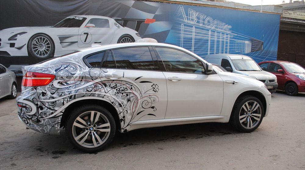 BMW X6 с аэрографией