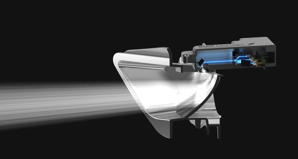 Лазерные фары для автомобиля