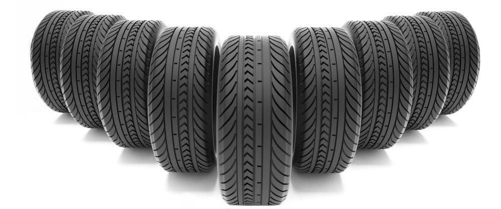 9 автомобильных шин