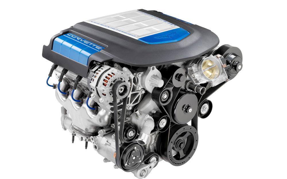 Двигатель автомобиля Chevtolet Corvette ZR-1