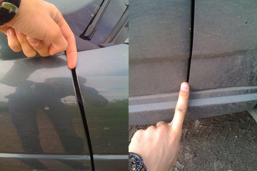 Большие зазоры на авто