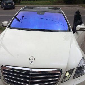 Белый Mercedes-Benz E-Class