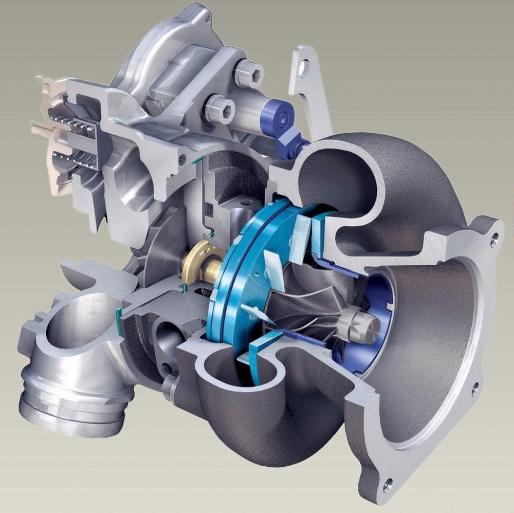 Турбонаддув в двигателе