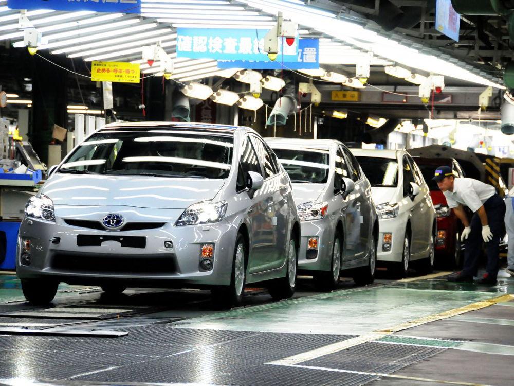 Автомобильный завод Toyota