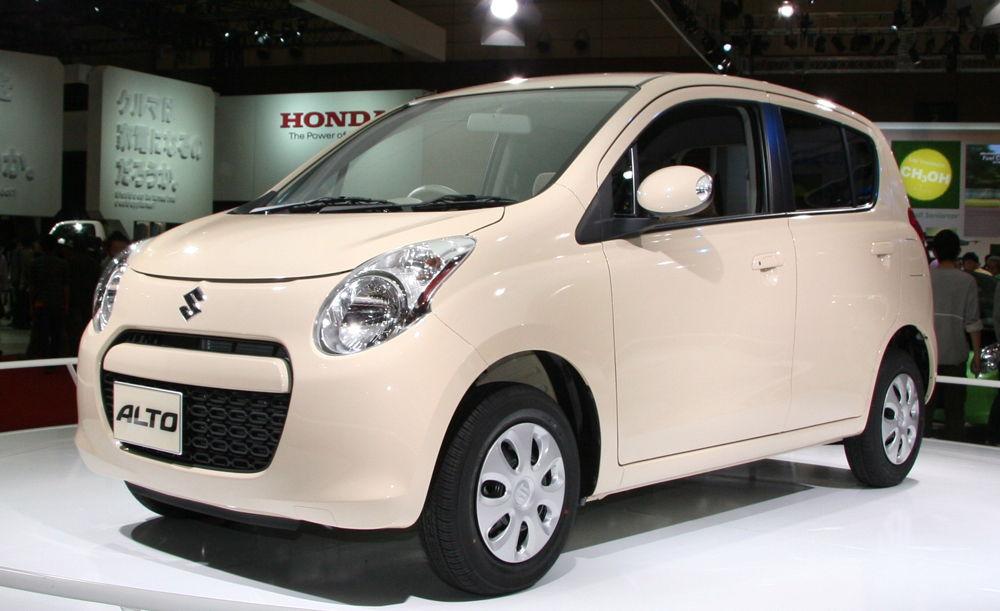 Suzuki Alto на выставке