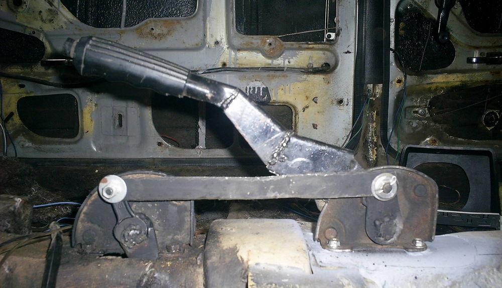 Разобранный ручник ВАЗ-2106