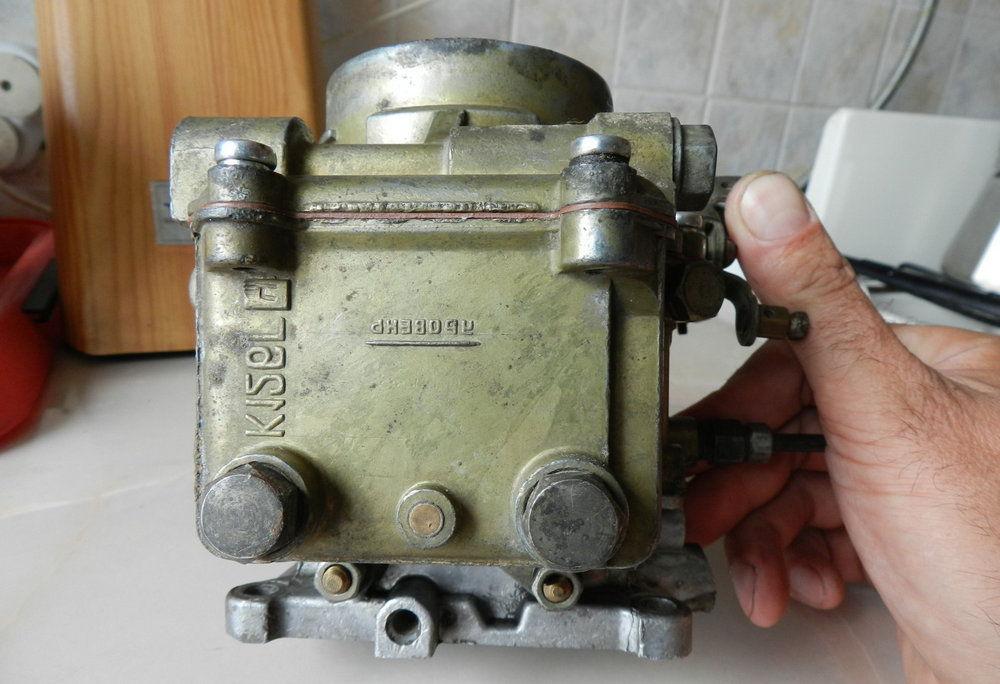 Настройка карбюратора К-126ГУ