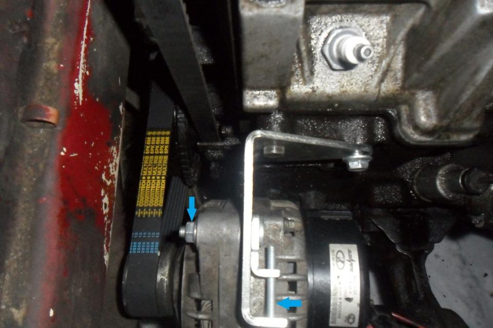 Генератор инжектор ВАЗ-2109