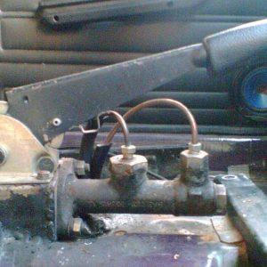 Ручника ВАЗ-2106 в разобранном виде