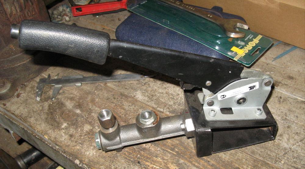Ручник на ВАЗ-2109