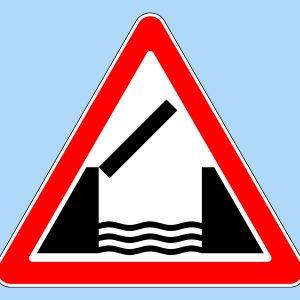 Дорожный знак «Разводной мост»
