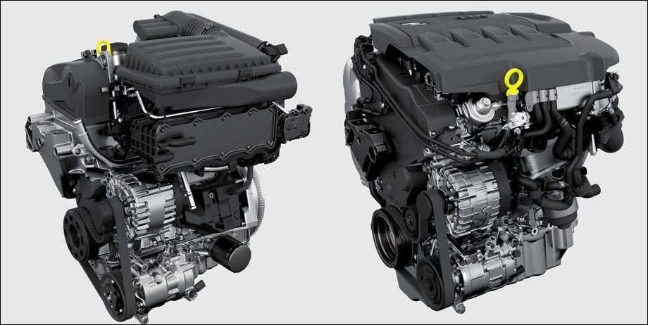 Двигатели Skoda Kodiaq